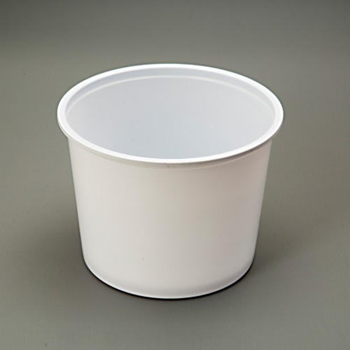 Tub 1 kg Wide  White
