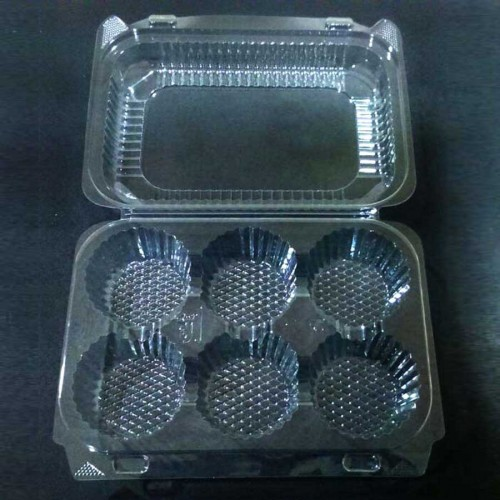 Tray Muffin with lid # 506 CLR
